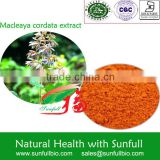 Supply natural Macleaya cordata Extract 60% 80%alkaloids (Sanguinarine &Chelerythrine)