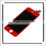 Best Quality ! Wholesale !! LCD Assembly For iPhone5 / For iPhone 5 LCD With Digitizer Assembly Red -87009741
