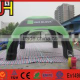 Wholesale inflatable igloo, PVC high quality inflatable tent for custom, cheap spider tent for sale