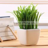 "artificial potted plants mini artificial potted plant wheat grass 8"" lifelike nature herb deco Fejka"