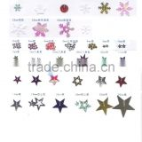 Christmas Snowflake Loose Sequins Paillette Sewing For Crafts Scrapbooking Navidad Ornaments animal sequins