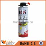 High density cheap spray pu foam cleaner gun type