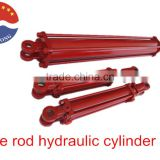 "bore 2"" rod 1.125"" stroke 20"" 2500psi double acting small tie-rod hydraulic cylinder for agricultural machine log splitter"