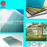 3mm riot shield sound barrier awning bus shelter swimming cover greenhouse roofing polycarbonate sheet