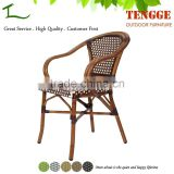 TG15-0162B French Style Outdoor Rattan Patio Furniture Bamboo chair