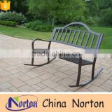 Furniture swing garden antique wrought iron benches for sale NTIRH-002Y