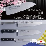 High quality and Premium damascus chef knife with The sharpness and beauty made in Japan