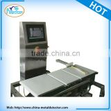Checkweigher weighing scale made in china high speed in motion conveyor stainless steel protection