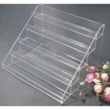 Customized clear nail polish rack cosmetic rack acrylic storage box for lipstick and other sundries