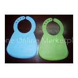 Soft Flexible Food Grade Silicone Waterproof Baby Bibs With Unique Food Catcher
