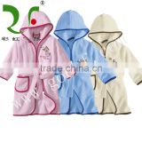 100% cotton terrycloth toddler bathrobes
