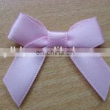 choice materials 4inch bright satin ribbon bow for garment