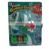 the clown fish bubble blower guns light