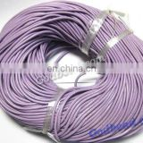 28jewelry cords 1mm/2mm/ 3mm/4mm/5mm/ smooth round jewelry cords geunine leather cords