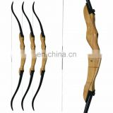 China Wholesale Traditional Handmade Wooden Recurve Bow Archery Bow Set