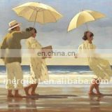 Jack Vettriano the picnic party Handmade Oil Painting