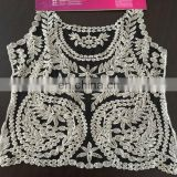 popular cotton and nylon net lace garment