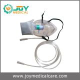 Disposable oxygen mask with bag