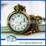 Hot Sale Vintage Style High Purity Brass Key Chains with Watch