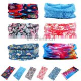Promotional Seamless Style Multifunctional Bandanna Headwear Scarf Wrap Fabric Headband