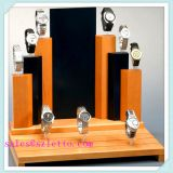 Jewelry wood display stands