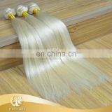 Top Quality Blonde Straight Silky Hair Weave Human Hair