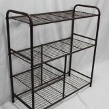 4tier shoe racks metal shelf home racks factory desin