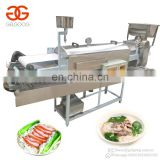 High Output Automatic Steamed Cold Rice Noodle Machine Commercial Rice Noodle Maker Cutter