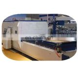 MS-600A  PVC film cold glue wrapping machine for profile 13