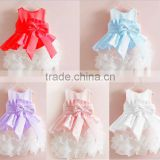 weddings bridesmaid dresses girl ball gown party dress for kids