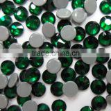 SS8 2.5mm Cristal Emerald wholesale hot fix strass, hot fix strass wholesale, hot fix wholesale strass for children clothes