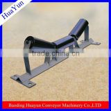 45 degree angled iron frame for 42 inch width conveyor belt
