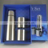 Wholesale High Quality Eco-Friendly Vacuum Flasks and Coffee Mugs Stainless Steel Gift Sets with Logo Customized