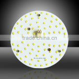Factory direct sale 10W round driverless AC 230V smd led pcb with magnet light source replacing 100lm/w