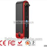 Red & Black Car Jump Starter | Auto Power Booster Pack | Mini & Portable Power Bank