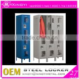 MD 520 staff room double tier locker/ metal varied locker with key lock
