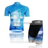 2016 new arrivel hotsale factory price cricket sportswear mountain bikes china cycling team jersey and shorts