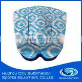 OEM Smooth Curved Arch Bar Tail Pads,Rhombus Pattern,Combination Color EVA Traction Pad, Deck Grip Pad
