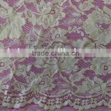 2016 newest floral vintage style wide application bulk lace fabric