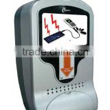 Solar Powered Mobile Phone Charging Machine