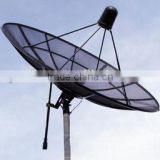 300cm C Band Satellite Dish Aluminium Antenna