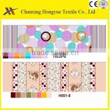 quilt fabric polyester brushed microfiber peach skin textile fabric offered by changxing factory