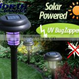 Outdoor garden tools multifunctional portable UV LED lamp Solar insect killer