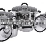 Surgical stainless steel cook ware set japanese style stainless steel cookware wholesale