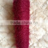 Hot Sale 100%nylon feather yarn pattern for knitting socks (FACTORY)