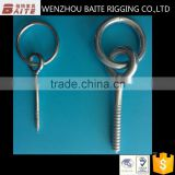 High Quality Custom Galvanized Wood Screw Hook Ring Made In China Professional Manufacturer 10.6*110mm