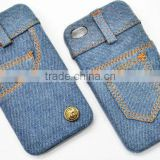 hottest sale latest direct price soft handfeeling user-friendly modern protector cowboy cell phone cover for iphone 4/4s