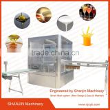juice doypack or standing up with spout satchet/pouch/bag filling sealing capping machine
