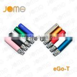 Good Quality ego battery JOMO Tech most hot selling electronic cigarette battery best battery factory direct sale