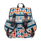 3d printing square aztec New Ladies Canvas Retro Vintage Backpack Women Rucksack Shoulder School Bag